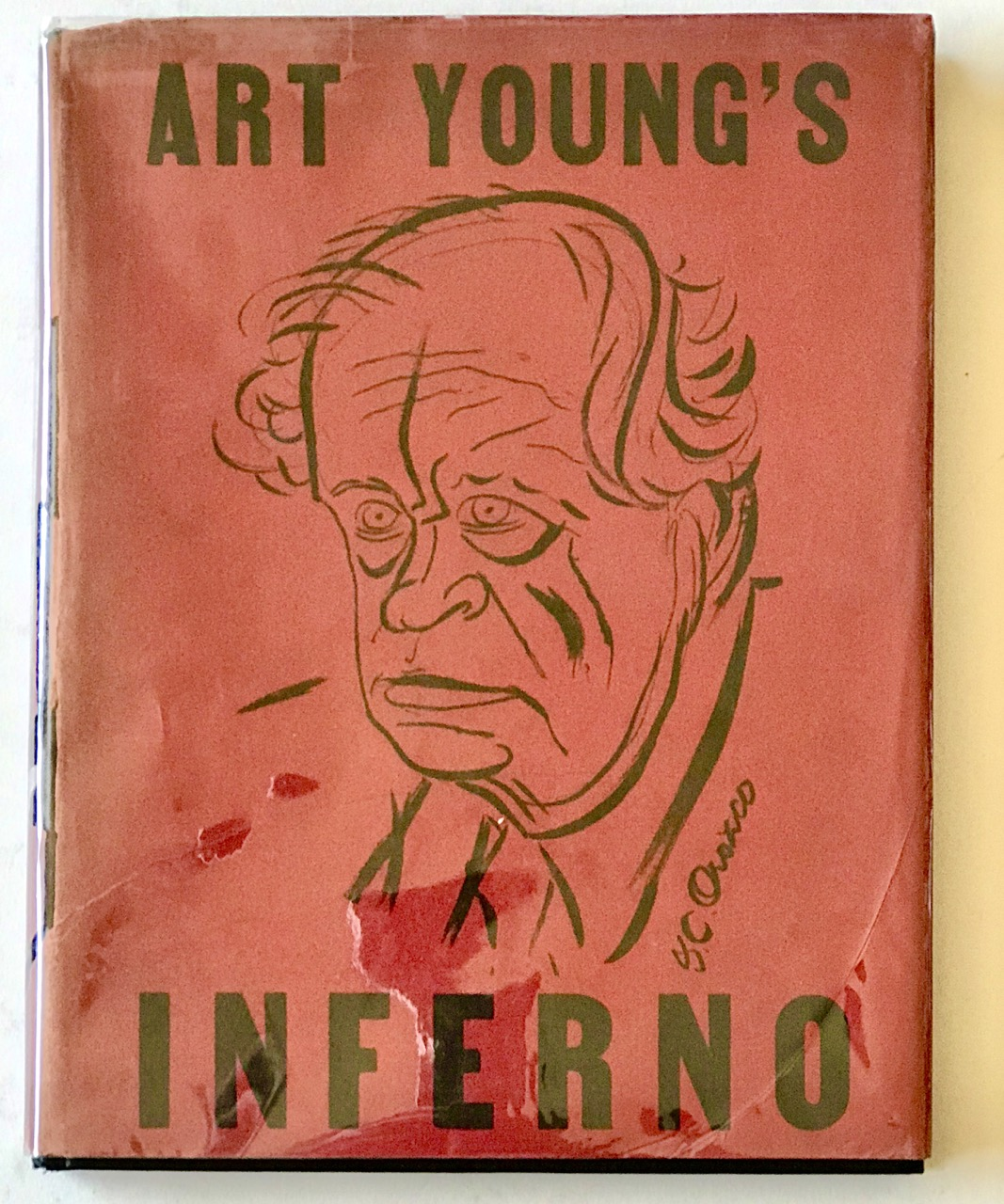Art Young's Inferno: A Journey Through Hell Six Hundred Years After Dante - Ltd, signed, in Jacket
