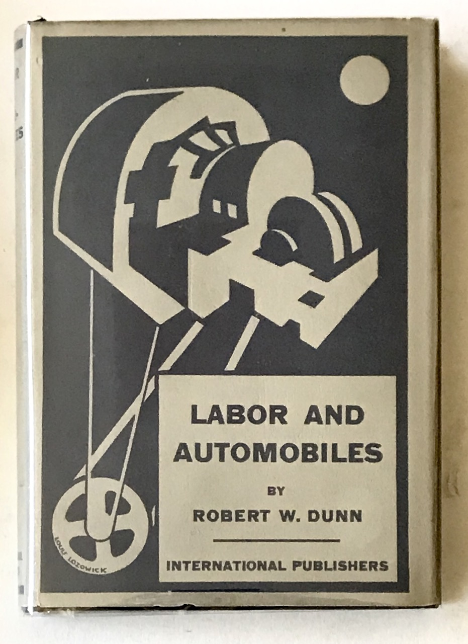Image for LABOR AND AUTOMOBILES (Near Mint in d/w)