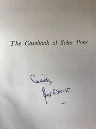 Image for The Casebook of Solar Pons