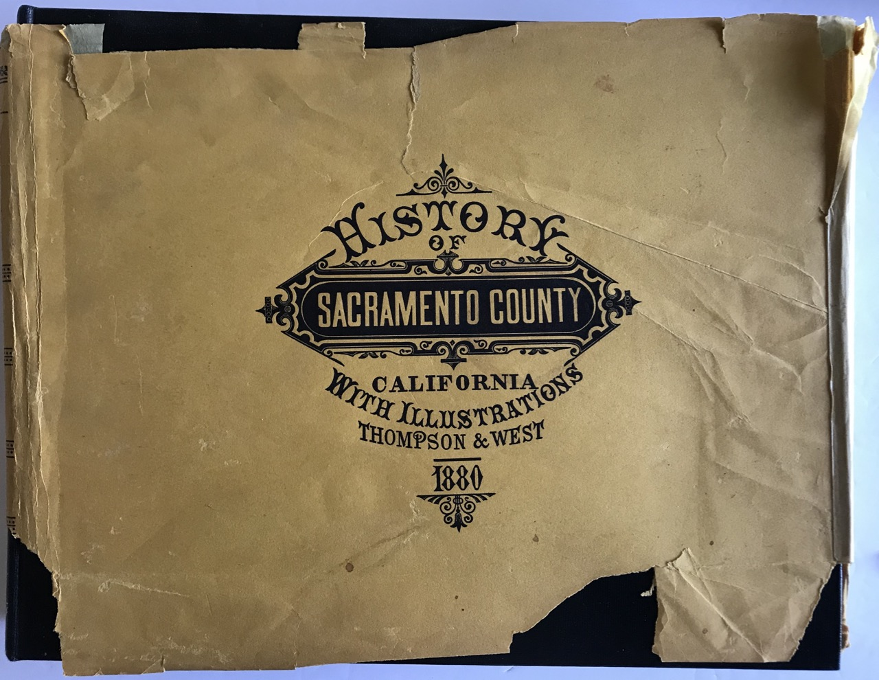 Image for History of Sacramento County California With Illustrations 1880 [Facsimile]